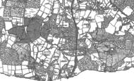Old Map of Dormans Park, 1910