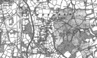 Old Map of Dormansland, 1910