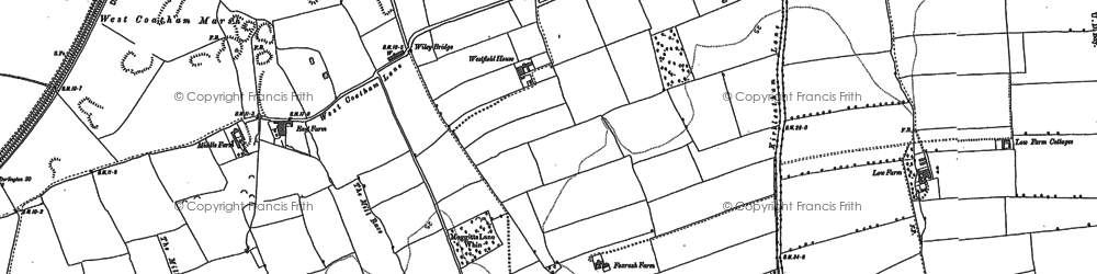 Old map of Dormanstown in 1913
