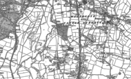 Old Map of Dosthill, 1883 - 1901