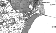 Old Map of Dovercourt, 1896 - 1902