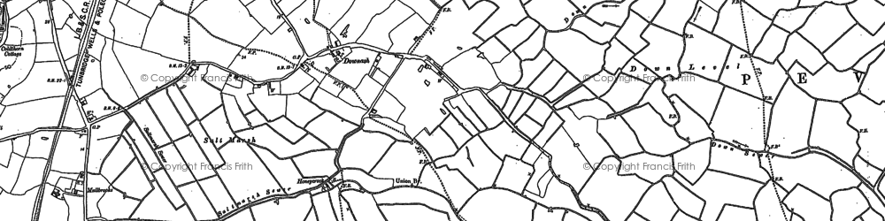 Old map of Lion Ho in 1908