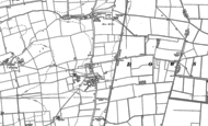 Old Map of Dowsby, 1886 - 1887