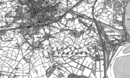 Old Map of Dragley Beck, 1911