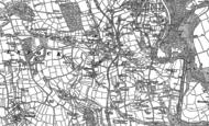 Old Map of Drakewalls, 1905