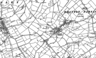 Old Map of Drayton Parslow, 1898 - 1923