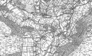 Old Map of Drebley, 1907