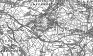 Old Map of Drighlington, 1882 - 1892