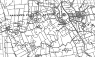 Old Map of Dringhoe, 1890 - 1909