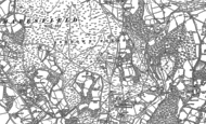 Old Map of Duddleswell, 1897 - 1898