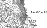 Old Map of Duddon Bridge, 1898 - 1923
