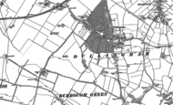 Old Map of Dullingham, 1901