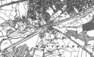 Old Map of Dumplington, 1894
