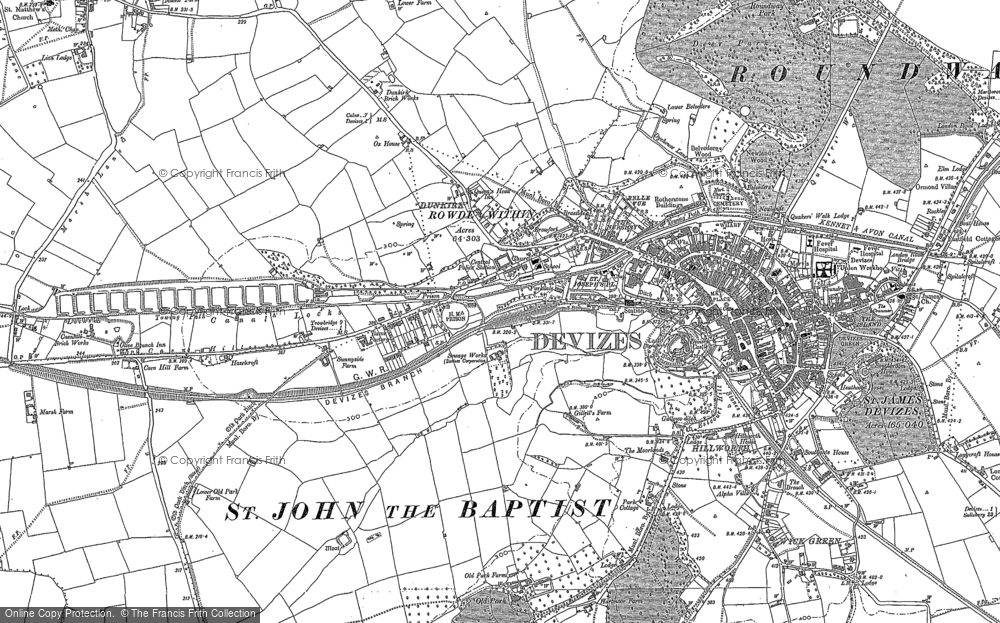 Old Maps of the Dunkirk area - Francis Frith
