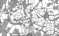 Old Map of Dunsfold, 1895 - 1913