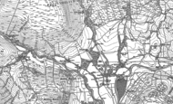 Old Map of Dunsop Bridge, 1907