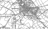 Old Map of Dunstable, 1900