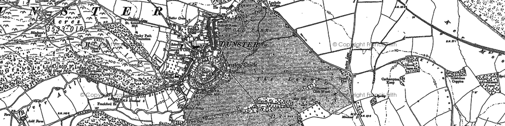 Old map of Yarn Market in 1902