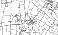 Old Map of Dunton, 1882