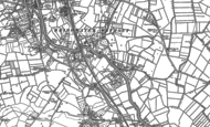 Old Map of Dunwear, 1886 - 1887