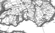 Old Map of Durgan, 1906