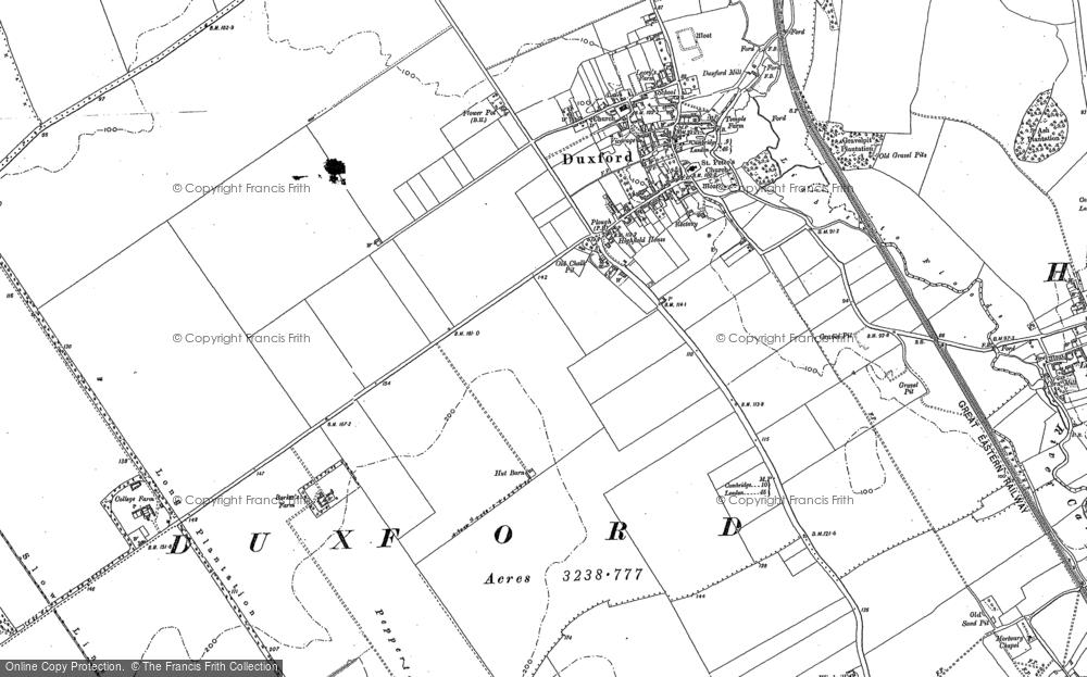 Duxford, 1885 - 1901