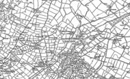 Old Map of Dwyran, 1899