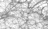 Old Map of Dyffryn Cellwen, 1903