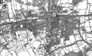 Old Map of Ealing, 1893 - 1894