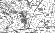 Old Map of Eardisley, 1885 - 1886