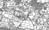 Old Map of Eardiston, 1883 - 1902