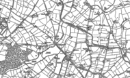Old Map of Earlswood, 1883 - 1903