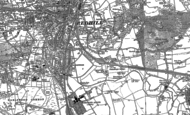 Old Map of Earlswood, 1895