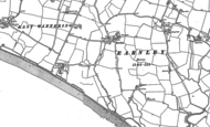 Old Map of Earnley, 1898 - 1909