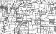 Old Map of Earswick, 1891
