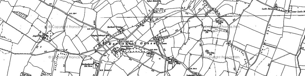 Old map of Latteridge in 1879