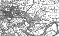 Old Map of Easby, 1891 - 1892