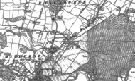 Old Map of Easebourne, 1895 - 1896