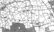 Old Map of East Appleton, 1891