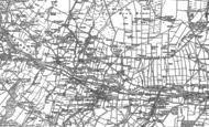 Old Map of East Blackdene, 1896