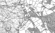 Old Map of East Boldre, 1895 - 1896