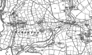 Old Map of East Charleton, 1905