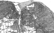 Old Map of East Cowes, 1896