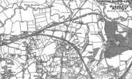 Old Map of East End, 1887