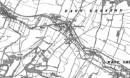 Old Map of East Garston, 1898 - 1910