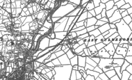 Old Map of East Guldeford, 1908