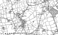 Old Map of East Hanningfield, 1895