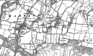 Old Map of East Harting, 1896 - 1910