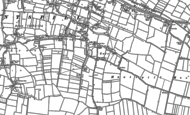 Old Map of East Huntspill, 1884 - 1886