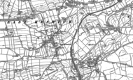 Old Map of East Keswick, 1888 - 1892